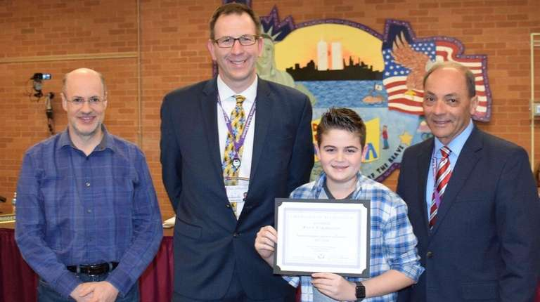 Ryan Parmegiani was recently honored for accruing 850