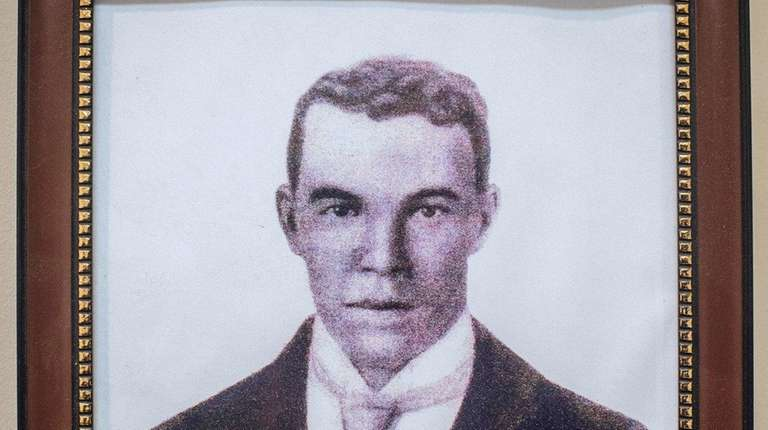 Herbert Carll, a great-uncle of Denice Evans-Sheppard, in