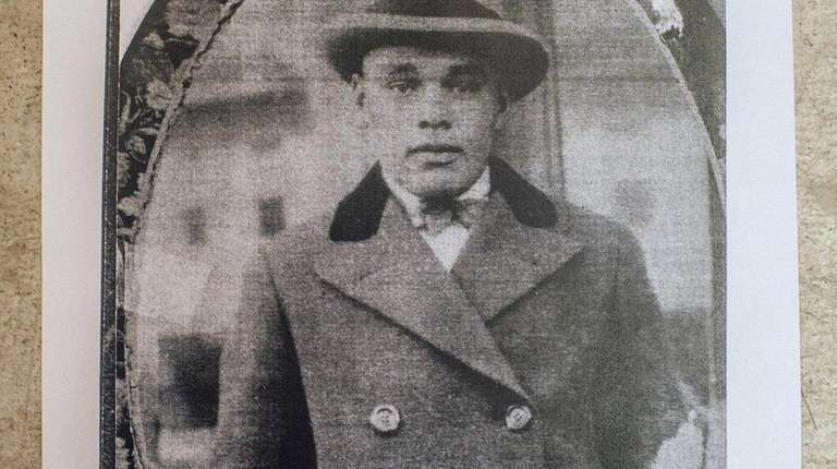 Percy Carll, the grandfather of Denice Evans-Sheppard, in