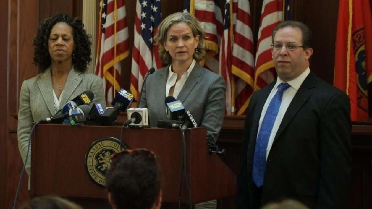 Nassau County Executive LauraCurran, on Friday, Feb. 9,
