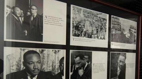 A Black History Month exhibit at area parks.