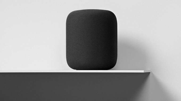 Apple touts its HomePod as a smart speaker,