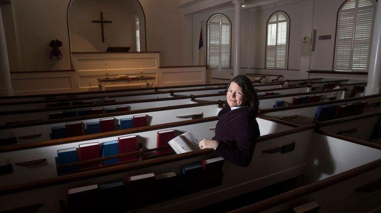The Rev. Mary Speers, pastor of Setauket Presbyterian