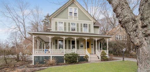 The Port Jefferson home
