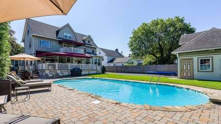 The Rockville Centre home was extensively renovated less