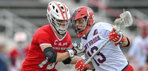 Stony Brook's Chris Pickel leans into a Sacred