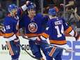 New York Islanders center Brock Nelson (29) celebrates