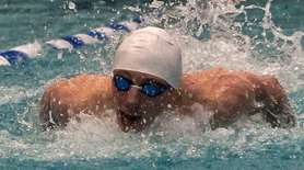 South Side/Lynbrook's Timothy Marski competes in the boys
