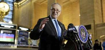 Sen. Chuck Schumer demands that the U.S. Department