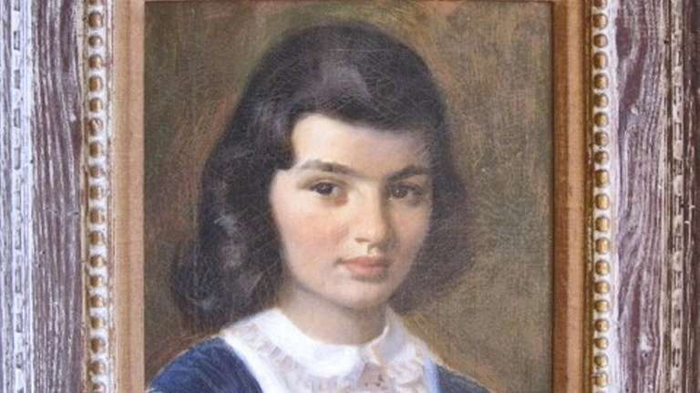 The 1950 painting of Jacqueline Kennedy Onassis by