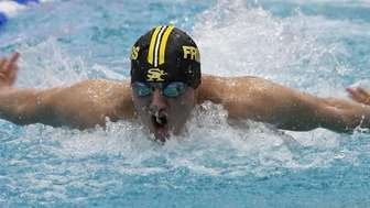 Mark Owens of St. Anthony's competes in the