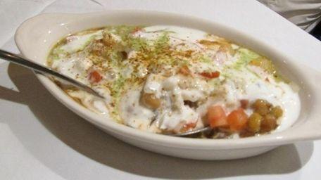 Chana chat at Royal Kabob & Grill in