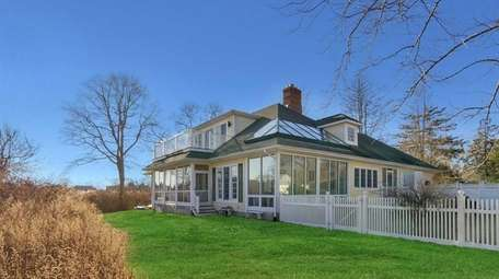 This East Moriches home has views stretching to