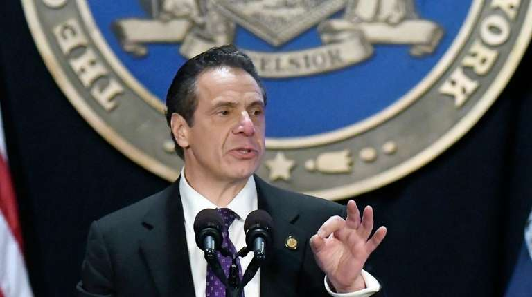 Gov. Andrew M. Cuomo, seen here on Jan.