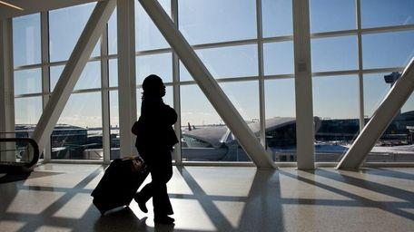 File photo of John F. Kennedy Airport. (Dec.