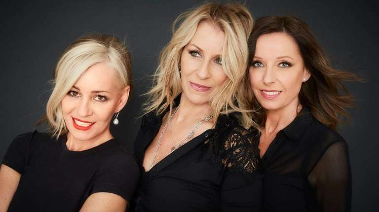 Left to right, Bananarama's Siobhan Fahey, Sara Dallin
