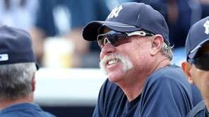 New York Yankees Goose Gossage during a Spring