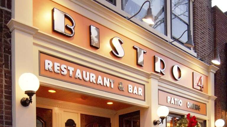 Bistro 44 is at 44 Main St. in