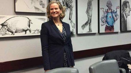 Nassau County Executive Laura Curran.