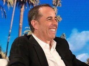 Jerry Seinfeld talks to Ellen DeGeneres on Tuesday,