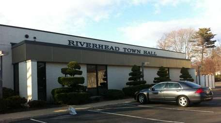 Riverhead Town Hall, seen here in March 2011.