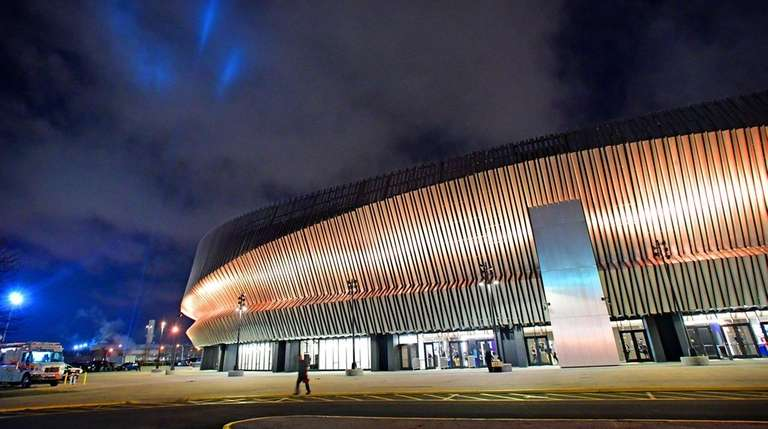 NYCB Live's Nassau Veterans Memorial Coliseum is pictured