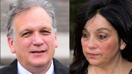 Former Nassau County executive Edward Mangano, Linda Mangano