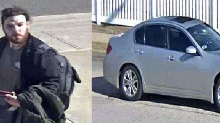 Nassau County police released surveillance images of a