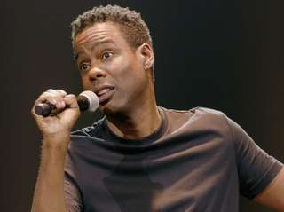Chris Rock in Netflix's comedy special