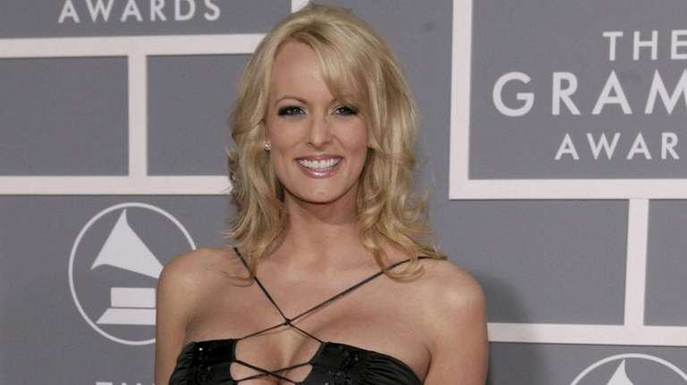 Stormy Daniels, shown in Los Angeles in 2007,