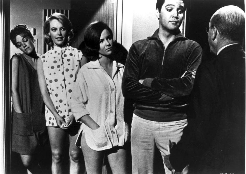 Elvis Presley stars as a chaperone who gets