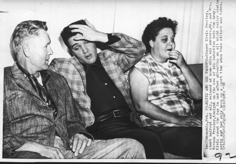 In Memphis, on Feb. 23, 1958, Elvis Presley
