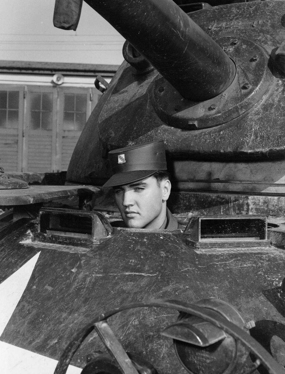 Elvis Presley was assigned to the Army's Third