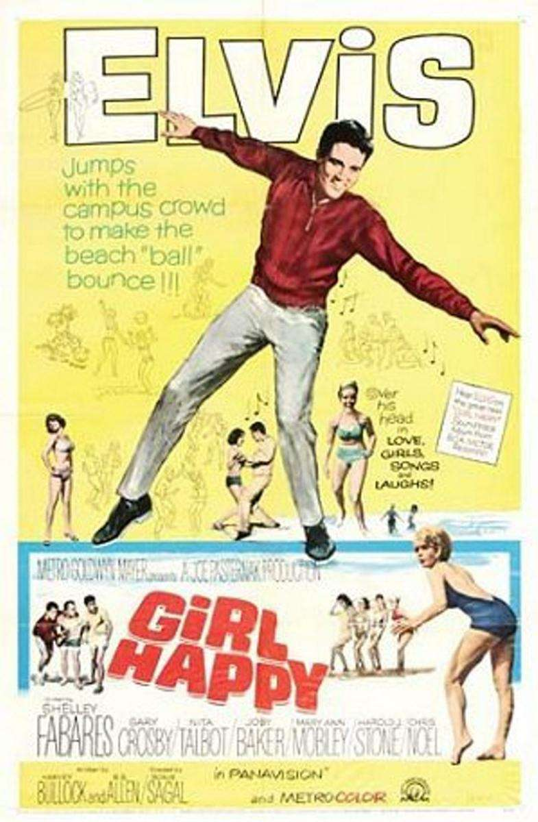 A poster for the Elvis Presley film