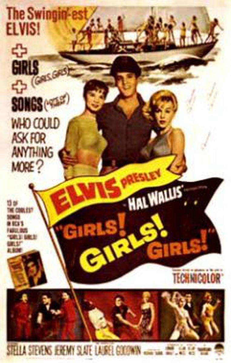 A poster for the Elvis Presley film,