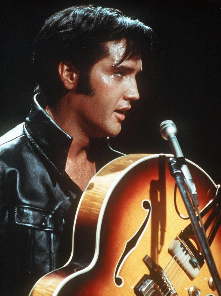 Elvis Presley in an undated photo.