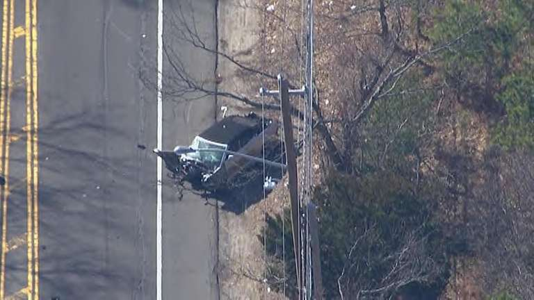 Five killed in four-vehicle crash on Long Island