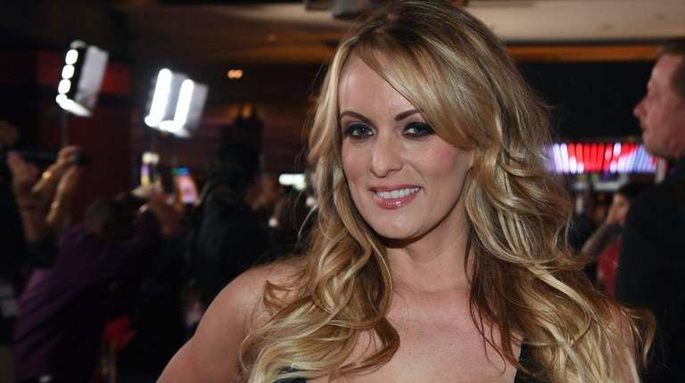 Stormy Daniels, seen here in Las Vegas on