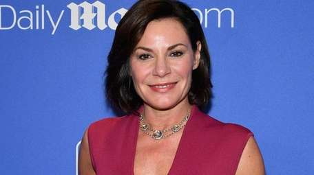 Luann de Lesseps in New York last year.
