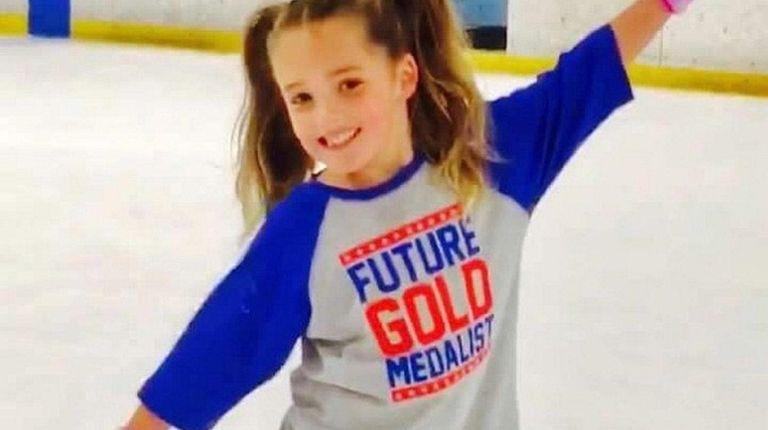 Madison Lada, 6, of Garden City