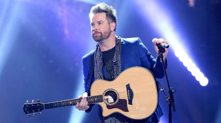 David Cook performs at the