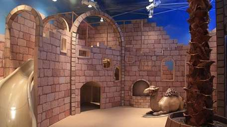 The city of Jerusalem indoor playground at Chabad