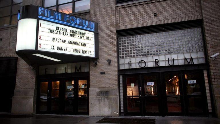 The Film Forum is in Manhattan on West