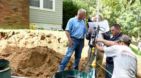 An advanced septic system that removed nitrogen from