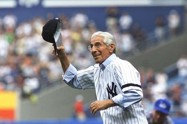Phil Rizzuto, Yankees (Sept. 25, 1917-Aug. 13, 2007)