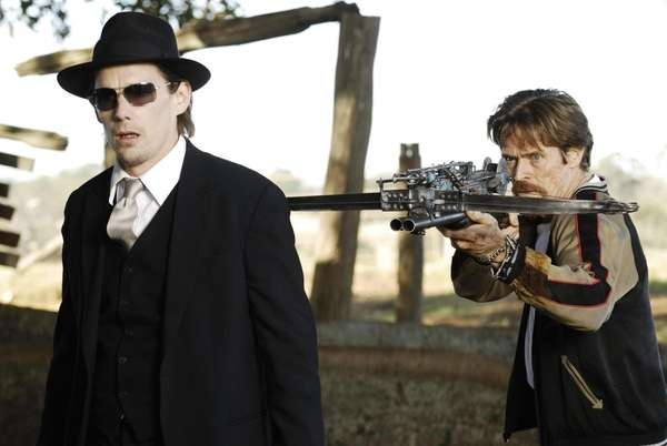 Ethan Hawke and Willem Dafoe star in
