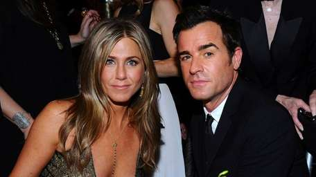 Jennifer Aniston and Justin Theroux attend the Screen