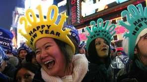 Emme Zheng, of Greensboro, N.C., foreground left, and