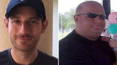 Parkland, Fla., shooting victim Scott Beigel, left, a