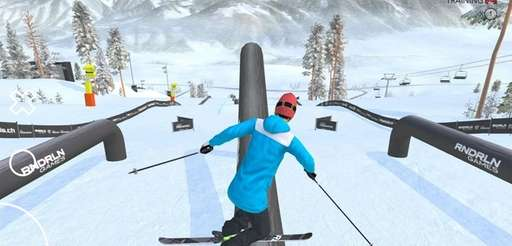 The Just Freeskiing app combines technical skiing excellence